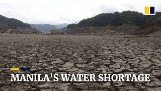 Millions in Manila experience water shortage as city's main reservoir hits critical low