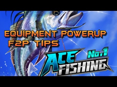 F2PG Ace Fishing Wild Catch - Free To Play Gear Power Up Tips - Update And Pearl Chests