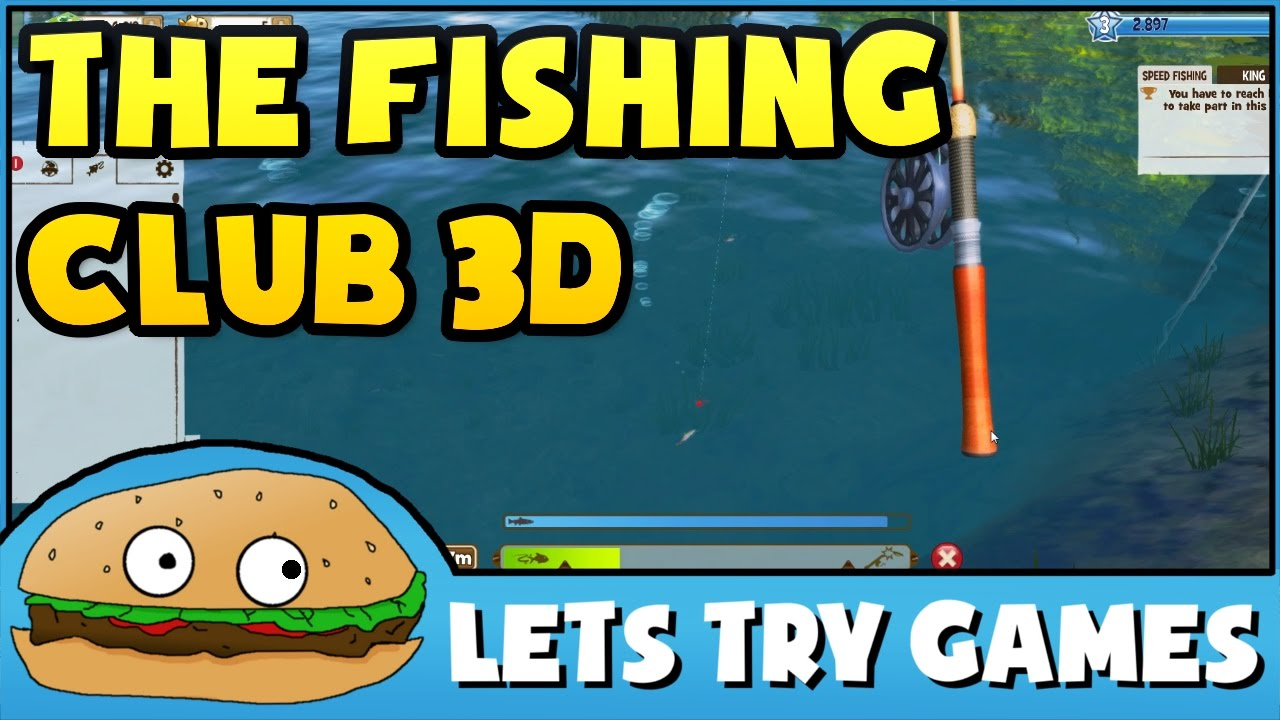 The fishing club 3d strange problems lets try games for The fishing club 3d