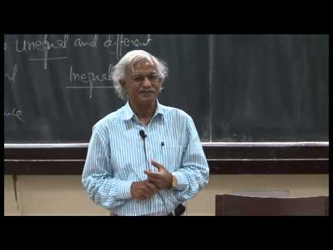 Mod-01 Lec-23 Social Stratification-I: Social Inequality And Stratification