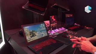 ASUS TUF FX504 gaming notebook series up to Intel Core i7 8750H and Nvidia GTX 1060