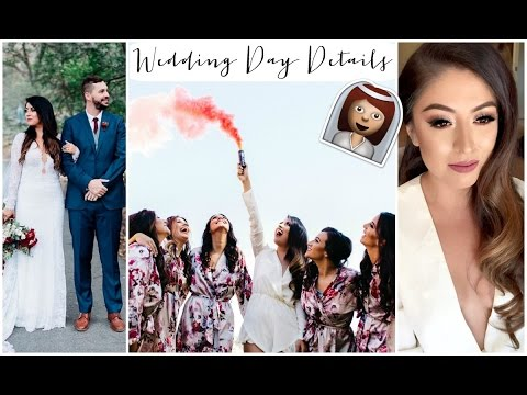My Wedding Day Morning Routine, Timeline & Details!