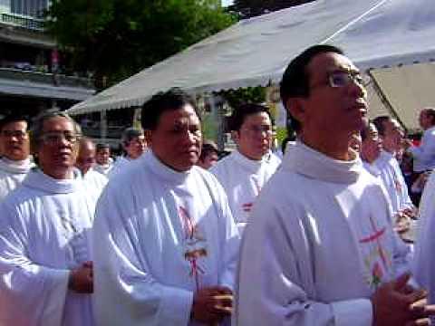 Thánh lễ TẤN PHONG GIÁM MỤC tại GP PHÚ CƯỜNG