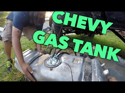 SH how to install Chevy K10 Gas Tank - YouTube