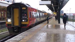 [HD] | Trains at Nottingham Railway Station - Compilation | 09/12/2014