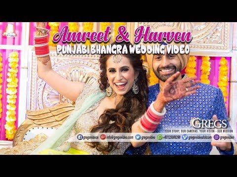 PUNJABI BHANGRA WEDDING VIDEO // AMREET & HARVEN