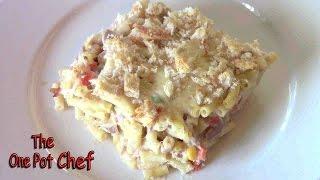 Tuna Macaroni Bake - Recipe