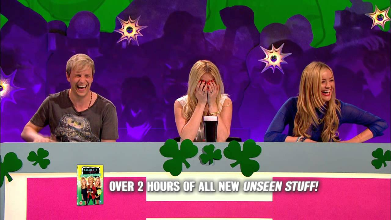 celebrity juice obscene and unseen