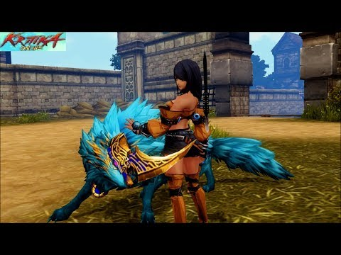 Kritika Online Wolf Guardian Gameplay Part 13: Baron Paavo's Return