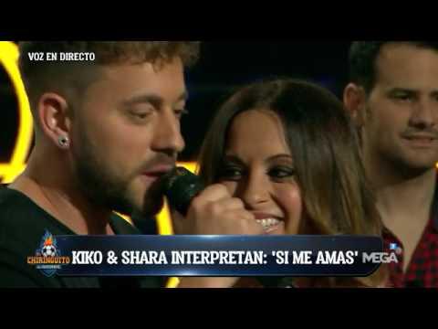 Kiko & Shara interpretan en directo 'Si me amas'