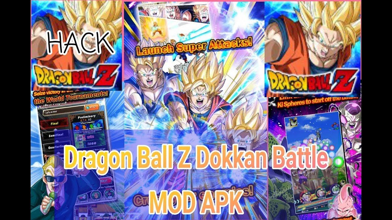 dragon ball z dokkan battle hack mod apk