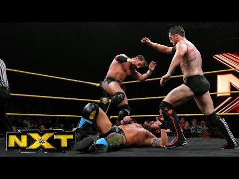 SAnitY vs. Kyle O'Reilly & Bobby Fish - NXT Tag Team Championship Match: WWE NXT, Dec. 20, 2017