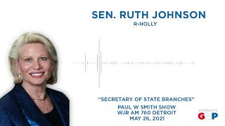 Sen. Johnson discusses SOS appointment troubles with Paul W Smith