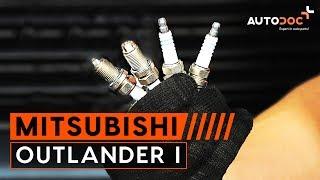 How to change spark plug MITSUBISHI OUTLANDER 1 TUTORIAL | AUTODOC