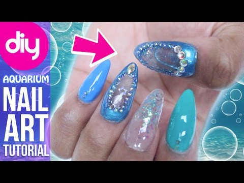 How To Do Aquarium Nails With Mia Secret Acrylic