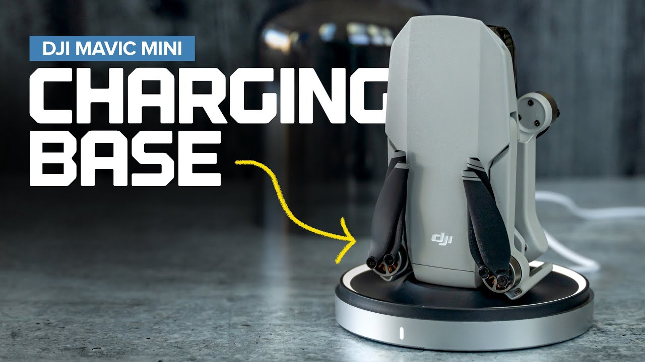 Original Dji Mavic Mini Drone Battery Charging Base