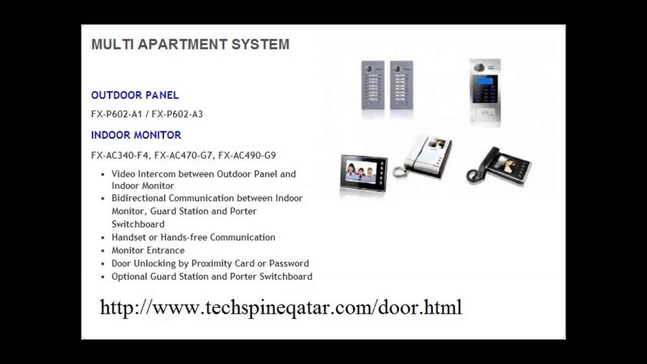 Intercom system in qatar