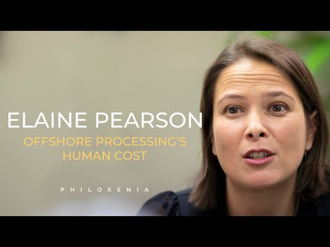 ELAINE PEARSON - The Human Cost of Australia's Offshore Detention Policy