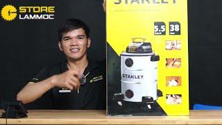 Stanley lại giảm giá máy hút bụi cực kỳ hấp dẫn cho anh em