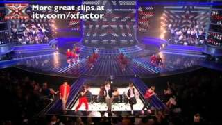One Direction sing Kids in America - The X Factor Live show 5 - itv.com/xfactor