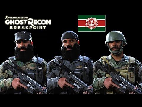 MIL-SIM Allegiance Outfits!!! Urzikstan SSG | COD MW Operators | Ghost Recon Breakpoint |