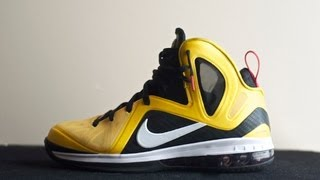 New Pick Up - Nike Lebron 9 Taxi Maize PS Review