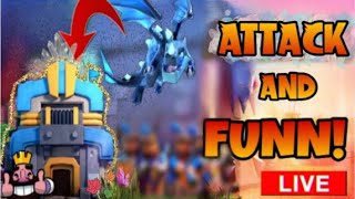 CLASH OF CLANS ATTACK &FUN #COC.