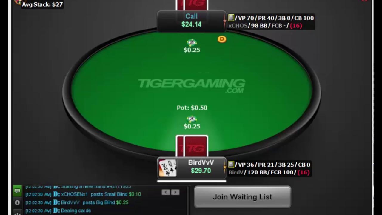 Texas holdem poker big blind