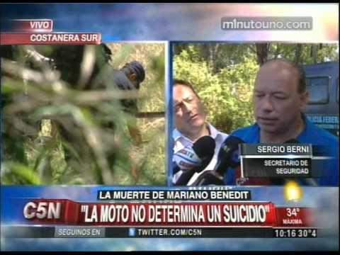 C5N - MUERTE DE MARIANO BENEDIT HABLA SERGIO BERNI