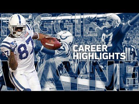 Reggie Wayne's Unworldly Career Highlights!   NFL Legends
