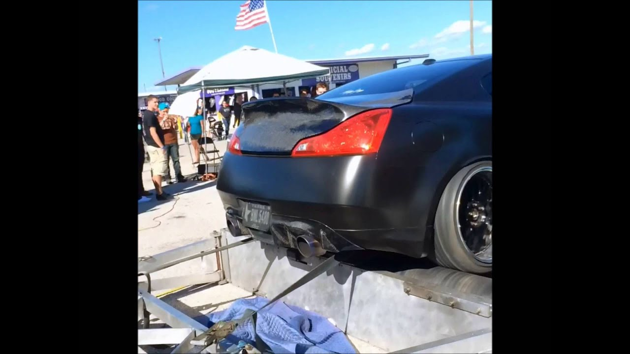 G37S Motordyne Exhaust E370 Fly by+Dyno
