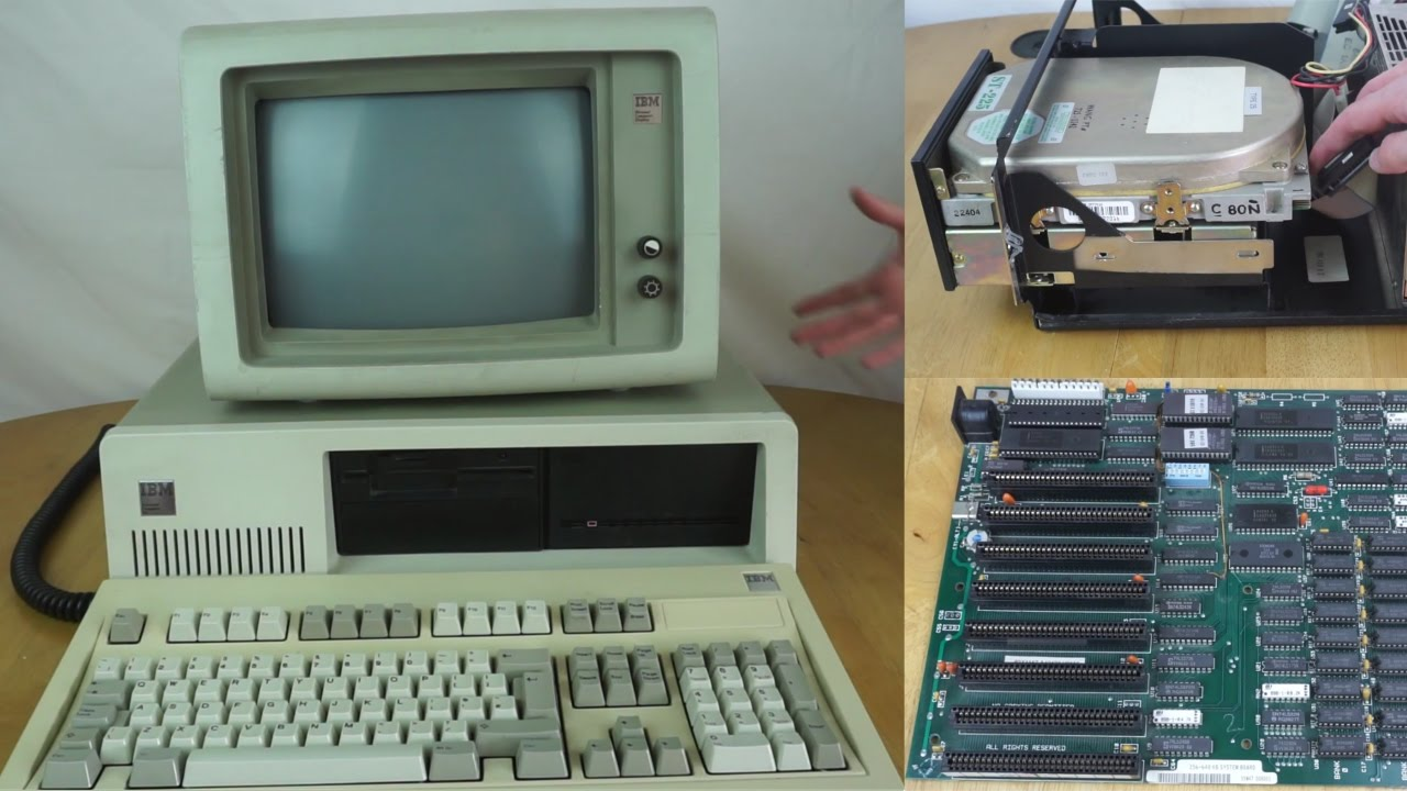 Demo & Teardown - IBM PC XT Model 5160