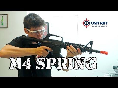 Review - M4 SPRING CROSSMAN - Stinger R34 By Luiz Rider