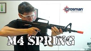 Baixar Review - M4 SPRING CROSSMAN - Stinger R34 by Luiz Rider