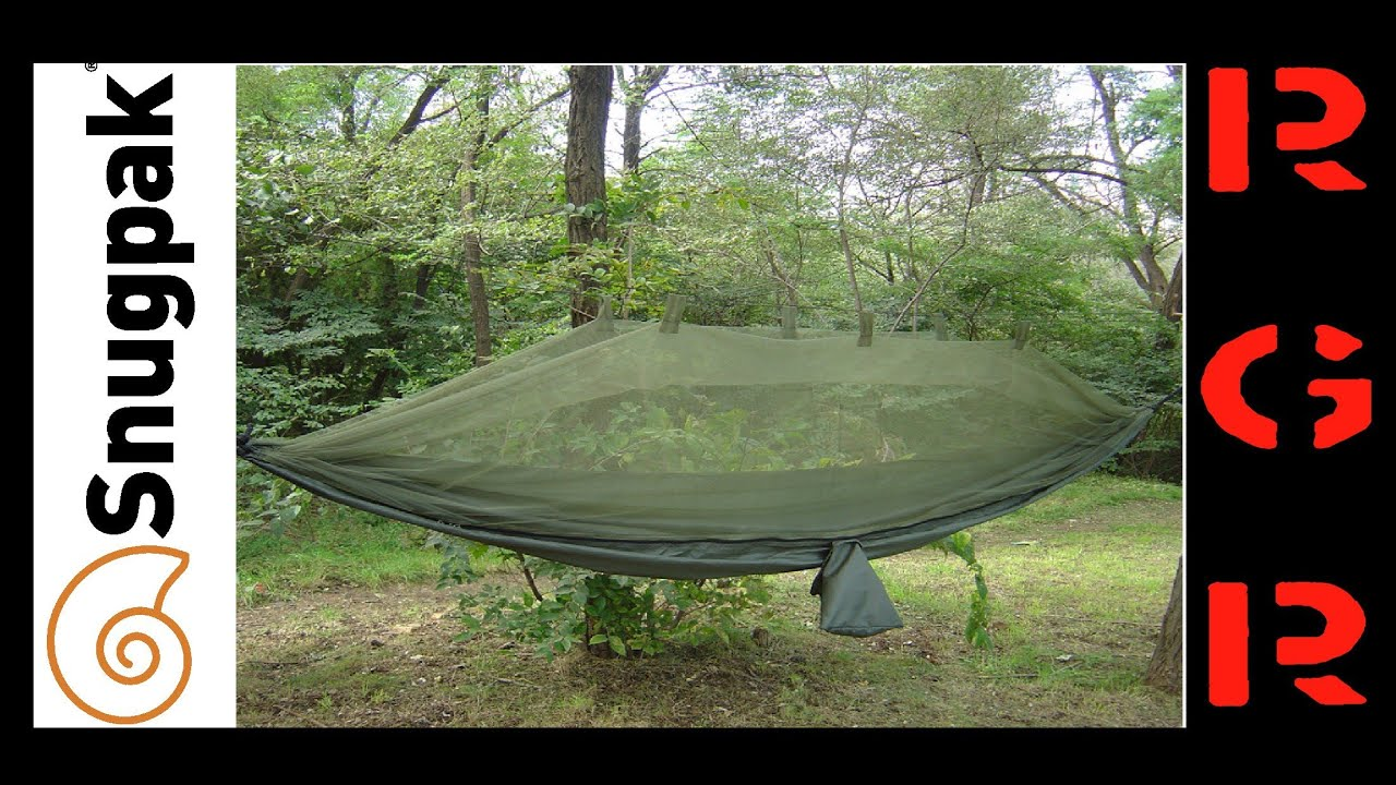 proforce snugpak jungle hammock with mosquito net