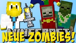 Neue Zombies! (Clown, Doktor, Rülpsen)  Mod Vorstellung