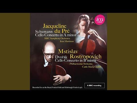 Cello Concerto In B Minor, Op. 104, B. 191: III. Finale. Allegro Moderato (Live)
