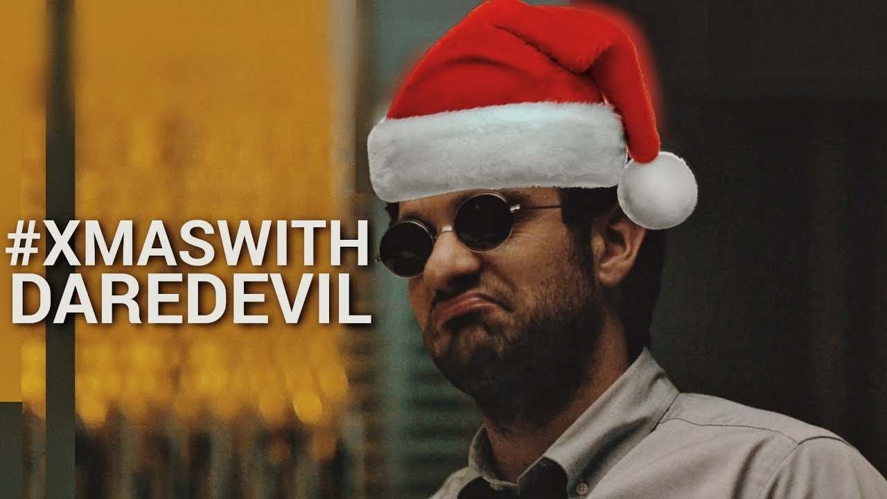 christmas with daredevil [#daredevilmas #xmaswithmaria]