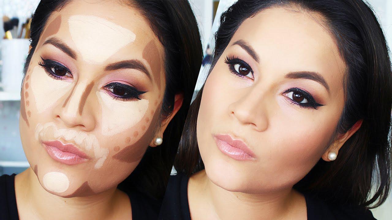Como contornear el rostro paso a paso maquillaje para - Como maquillarse paso apaso ...