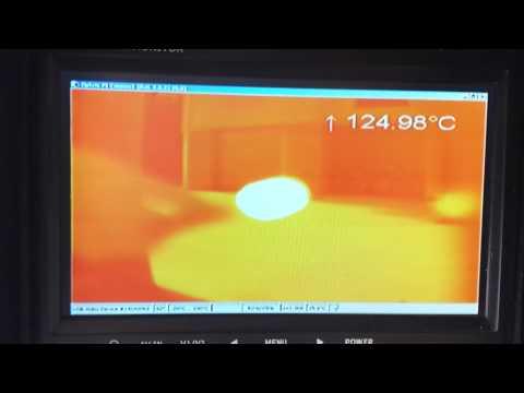 Thermographic camera test (OPTRIS Pi 450 LightWeight)