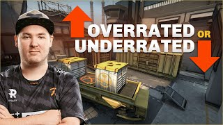 Flusha plays Counter-Strike Overrated or Underrated