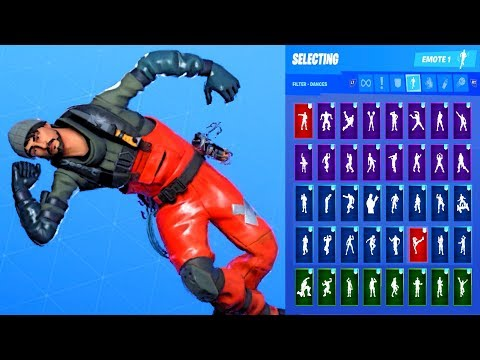 *NEW* Fortnite TURK VS RIPTIDE Skin Showcase With All Dances & Emotes Season 11 Battle Pass Outfit
