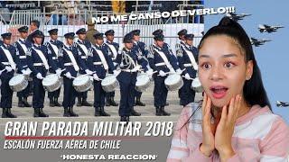 REACCIONO a el ESCALÓN FACH | Gran Parada Militar Chile 2018