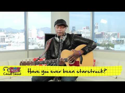 Music Cheat Sheet - Javier Colon From The Voice