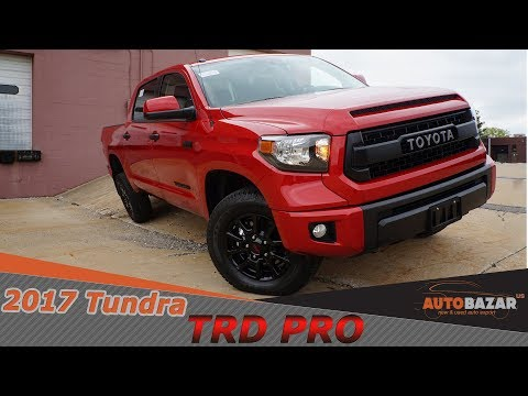 2017 Tundra TRD Pro CrewMax видео. Тест драйв Новой Toyota Tundra TRD PRO 2017 на Русском. Авто США.