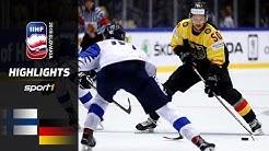 Sensationeller DEB-Sieg: Finnland – Deutschland 2:4   Highlights   IIHF Eishockey-WM 2019   SPORT1