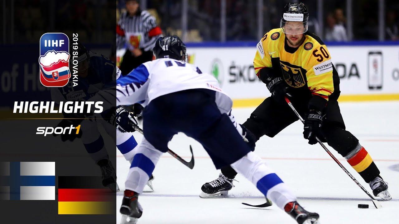 Sensationeller DEB-Sieg: Finnland – Deutschland 2:4 | Highlights | IIHF Eishockey-WM 2019 | SPORT1
