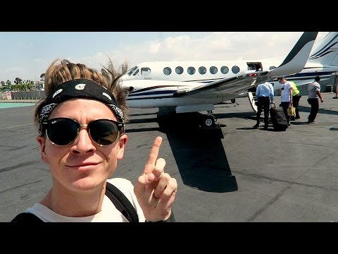 WE HAVE OUR OWN PRIVATE JET!?