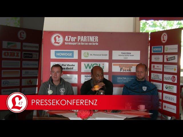 Regionalligateam: Pressekonferenz nach dem Spiel Lichtenberg 47 – Babelsberg 03