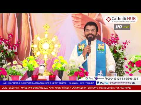 HOLY MASS | |Topic: PARISE & WORSHIP | REV.FR.BENNY SVD | DMC | HABSIGUDA | HYD | 19-05-2020